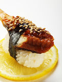 Eel Sushi Royalty Free Stock Photo