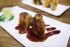 Eel sushi japanese food Stock Photo