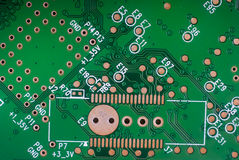 Eelectronic circuit Royalty Free Stock Photography