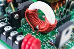 Eelectronics deska Zdjęcie Royalty Free