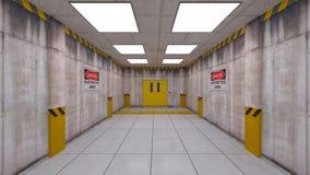 Eelevator passage Royaltyfri Fotografi