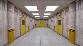 Eelevator passage Arkivfoto