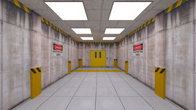 Eelevator passage Royalty Free Stock Photography
