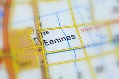 Eemnes, miasto w holandiach zdjęcie royalty free