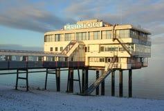 Eemshotel i Delfzijl Nederländerna Arkivbilder