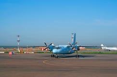 Een-24 vliegtuig Royalty-vrije Stock Afbeelding