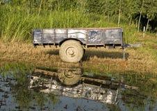 Een aanhangwagen Royalty-vrije Stock Afbeeldingen