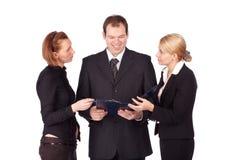 Een aantrekkelijk, divers commercieel team Stock Fotografie