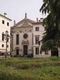 Een aardig klein vierkant van Vicenza Stock Afbeeldingen