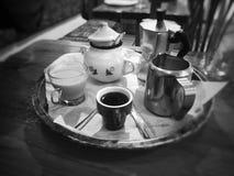een aardige koffie Stock Fotografie