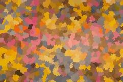 Een abstract mozaïek multicolored patroon Stock Foto's