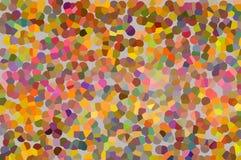 Een abstract mozaïekpatroon Stock Foto's