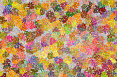 Een abstract mozaïekpatroon Royalty-vrije Stock Afbeeldingen