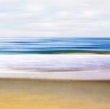 De Samenvatting van het zeegezicht Royalty-vrije Stock Afbeeldingen