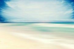 Een abstract overzees zeegezicht Stock Afbeelding