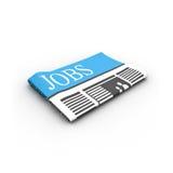 Het document van banen Royalty-vrije Stock Afbeeldingen