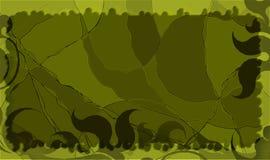 Een abstracte grunge groene achtergrond Stock Afbeelding