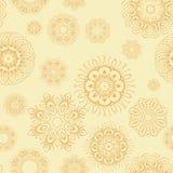 Een abstracte uitstekende patroon naadloze achtergrond. Stock Illustratie