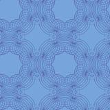 Een abstracte uitstekende patroon naadloze achtergrond. Royalty-vrije Illustratie