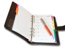 Een adresboek Royalty-vrije Stock Afbeeldingen