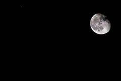 Afnemende maan Stock Afbeeldingen