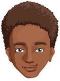 Een Afrikaans-Amerikaanse kerel Stock Afbeelding