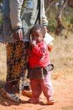 Een Afrikaanse vrouw met haar kinderen 10 Stock Afbeeldingen