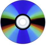Een aftasten van een geïsoleerde CD-rom Royalty-vrije Stock Afbeeldingen