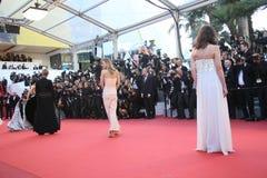 Een algemene mening van atmosfeer Palais des Festivals royalty-vrije stock foto