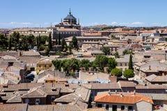 Een algemene mening van Toledo, Spanje Royalty-vrije Stock Foto