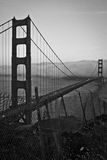 Golden gate bridge, een alternatieve mening Royalty-vrije Stock Afbeelding
