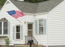 Een Amerikaans Huis stock foto's