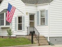 Een Amerikaans Huis stock foto