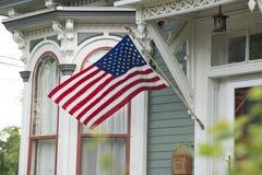 Een Amerikaans Huis royalty-vrije stock afbeeldingen