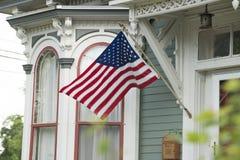 Een Amerikaans Huis royalty-vrije stock foto