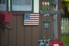 Een Amerikaans Huis royalty-vrije stock afbeelding