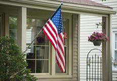 Een Amerikaans Huis stock fotografie