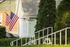 Een Amerikaans Huis royalty-vrije stock foto's