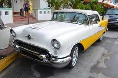 Een Amerikaanse Klassieke Auto Royalty-vrije Stock Afbeelding