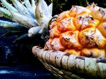 Een ananas stock afbeeldingen