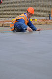 Een ander beton giet Stock Foto's