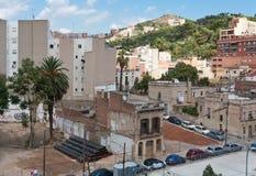Een ander deel van Barcelona. stock afbeelding