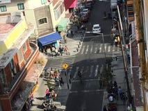 Een ander perspectief van de straat royalty-vrije stock foto