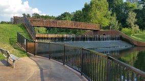 Een andere brug stock fotografie