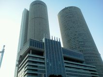 Een andere grijpt mening van de ontzagwekkende Post van Nagoya Royalty-vrije Stock Foto