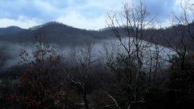 Een andere Smokey Mountain-ochtend stock afbeeldingen