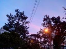 Een andere zonsondergang Stock Foto's