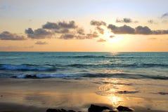 Een andere Zonsondergang in Tamerindo Stock Foto
