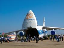 Een-124-100 Antonov Royalty-vrije Stock Foto's