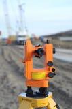 Een apparaat voor nauwkeurige metingen op het gebied Stock Foto's